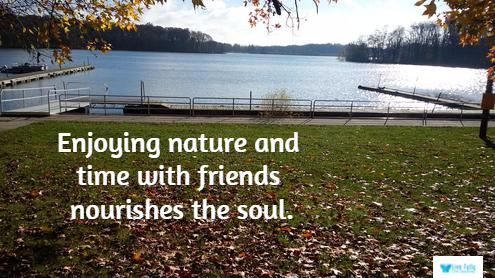 How Friendships Nourish Your Soul – Living Above the Fray